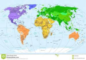 world map countries high resolution blue borders and