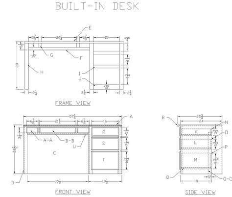 Office Desk Design Plans Home Ideas 187 Building Desk Plans