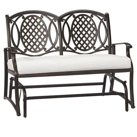 home depot swings and gliders hton bay westbury patio double glider adq27104k01 the