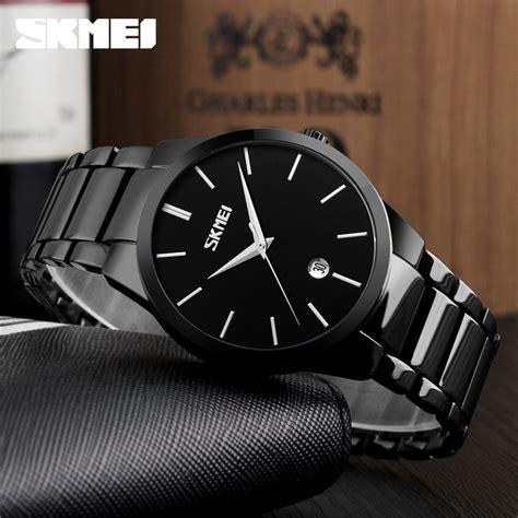 Skmei Jam Tangan Pria Analog 9140 skmei jam tangan analog pria 9140cs black