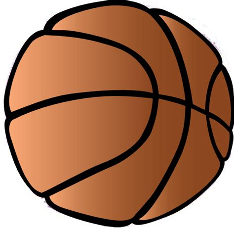 basketball clipart free basketball clip at clker vector clip