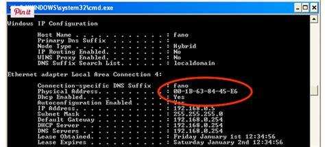 Mac Address Lookup Cmd What Is Mac Address Networkel