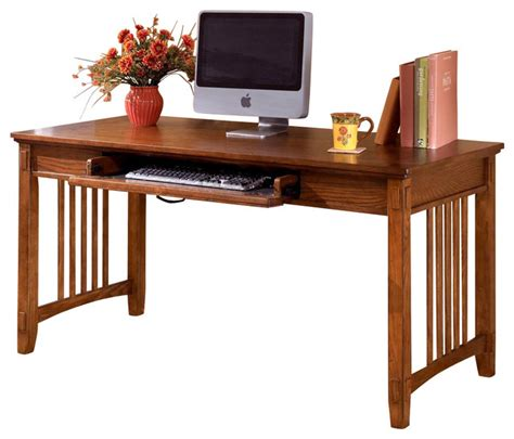 style desk mission style writing computer desk contemporary