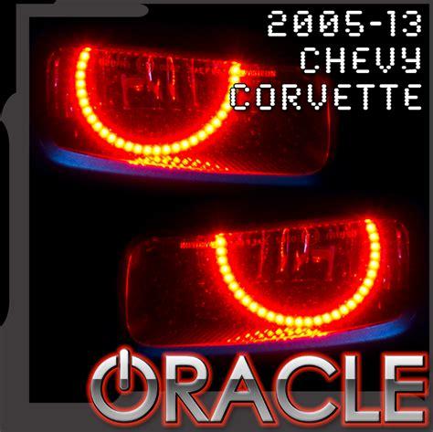 c6 lights 2005 2013 c6 corvette foglight halo led kit