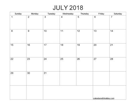 printable calendar blank 2018 blank calendar 2018 printable 1 month calendar template