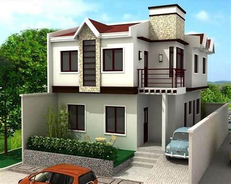 home design 3d jardin dibujos de casas modernas y elegantes dise 241 os de casas de dos pisos