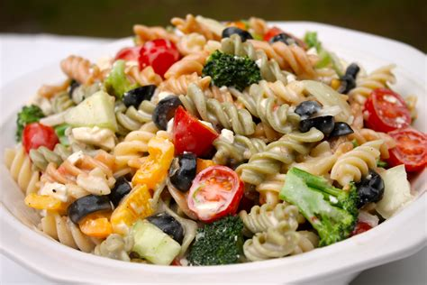 creamy pasta salad recipe the best creamy italian pasta salad i heart recipes