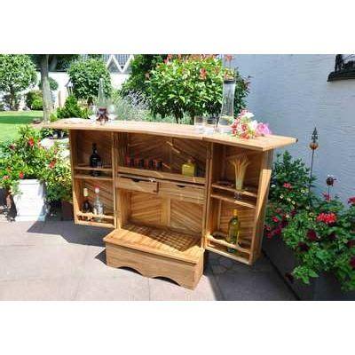 Bar Exterieur De Jardin by Bar D Exterieur De Terrasse En Acacia Leco Gmbh Achat