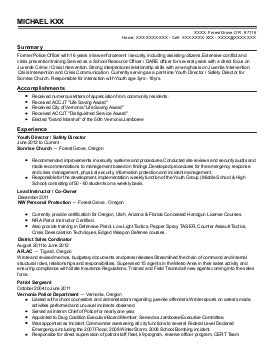consumer safety technician resume exle united states food and administration fort