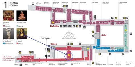 louvre museum floor plan holidays layover in