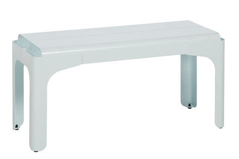 tolix bench steel kids bench crocodile by tolix steel design design