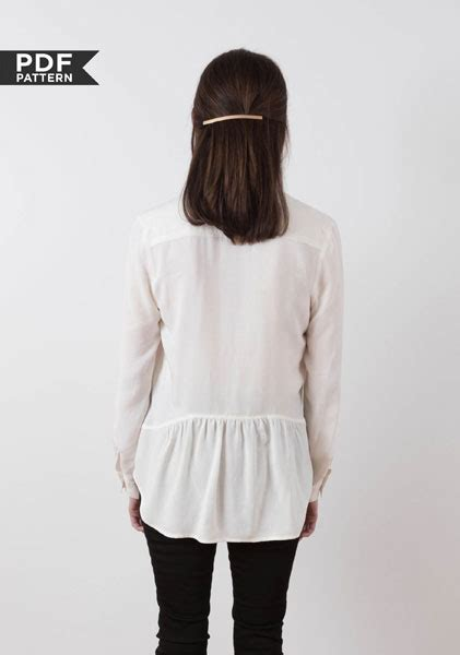 archer shirt pattern review digital archer button up shirt sewing pattern shop