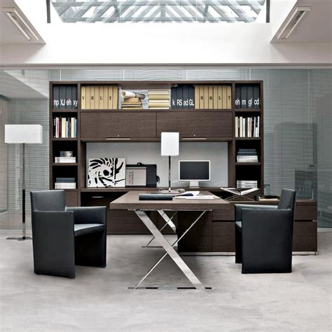 Design For Large Office Desk Ideas Executive Offices Ac Executive Collection B B Italia Project Design Antonio Citterio Kg
