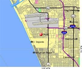 el segundo california map city data