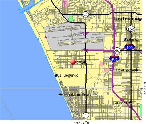 california map el segundo city data