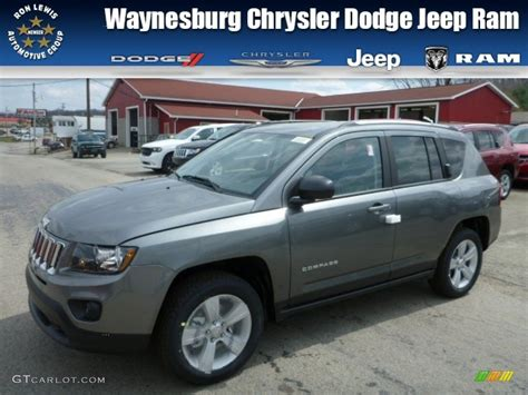 gray jeep compass 2014 mineral gray metallic jeep compass sport 4x4