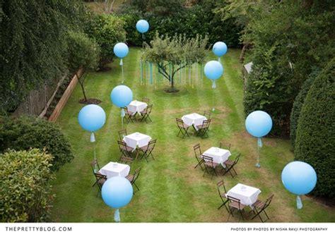 decorar con globos jardin decoraci 243 n bautizo en el jard 237 n decorar con globos