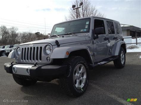 2014 Jeep Wrangler Unlimited Colors 2014 Billet Silver Metallic Jeep Wrangler Unlimited