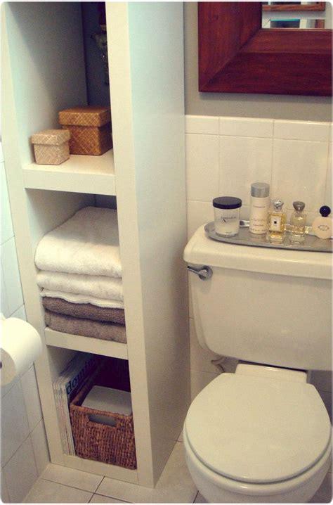 Best 25 Small Bathroom Shelves Ideas On Pinterest Diy Best Bathroom Shelves
