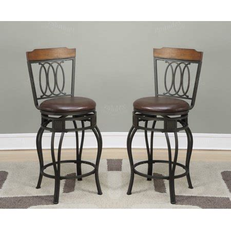 29 Inch Bar Stools Walmart by 29 Inch Seat H Counter Bar Chairs Kitchen Patio Metal With