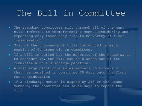when does the house consider bills from the corrections calendar ppt chapter 12 congress in action powerpoint presentation id 146096