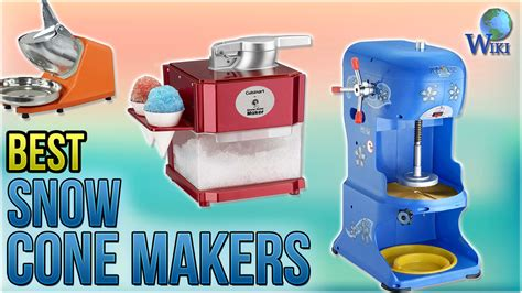 top  snow cone makers   video review