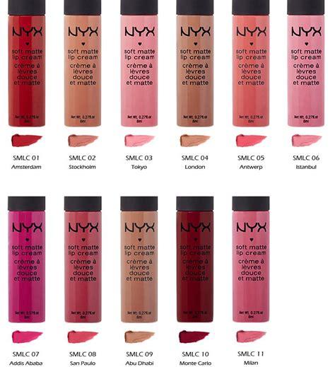 Nyx Soft Matte Lip Travel Size 11 nyx soft matte lip lipstick smlc quot 11 color set quot s cosmetics