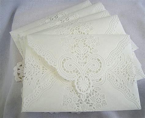 Handmade Envelopes For Wedding - custom set for michela envelopes vintage wedding handmade