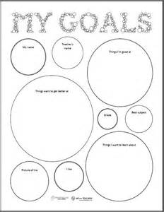 goal sheet template for students goal setting sheet squarehead teachers