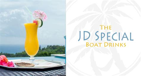 virgin boat drinks the jd special a boat drink recipe from the tryall club
