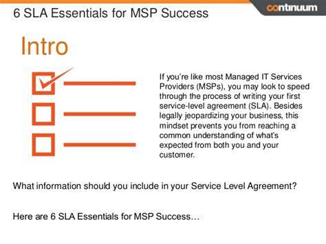 Writing Service Level Agreement Reportz60 Web Fc2 Com Msp Sla Template