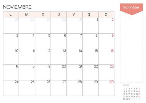 Calendario Noviembre 2014 Calendario Mes De Noviembre 2014 Para Imprimir