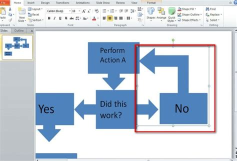 a flowchart in powerpoint best way to make a flow chart in powerpoint 2010
