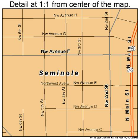 seminole texas map seminole texas map 4866764