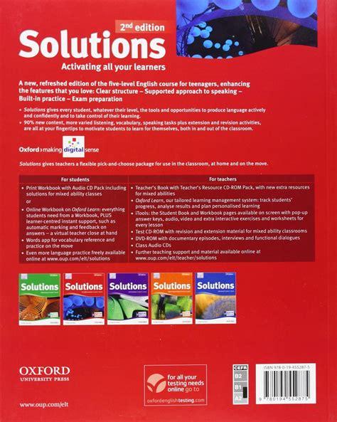 solutions pre intermediate workbook leading 019451059x купить solutions pre intermediate second edition student s book