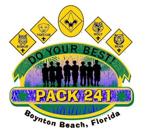 Pack 241 Parent S Orientation Packet Cub Scout Pack 241 Boynton Beach Fl Boy Scout Troop Bylaws Template