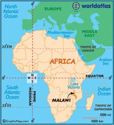 Malawi Africa Map by Malawi Map Geography Of Malawi Map Of Malawi