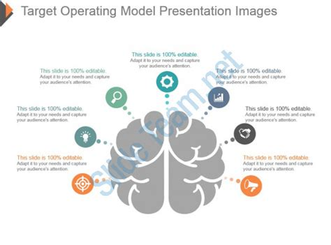 95954651 Style Linear 1 Many 7 Piece Powerpoint Presentation Diagram Infographic Slide Target Operating Model Powerpoint Template