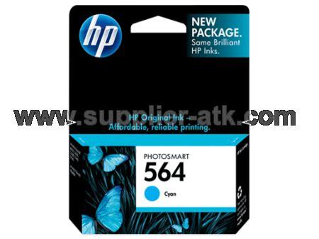 Murah Tinta Hp Original 564 Cb317wa Black Photo Ink Cartridge supplier stationery alat tulis kantor tinta hp cyan ink cartridge 564 cb318wa