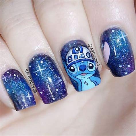 tutorial nail art stitch mesdames d 233 corez vos ongles pour la sortie de star wars 7