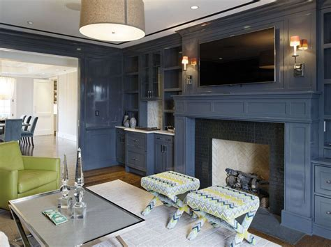 Stone Fireplace Wall 26 blue living room ideas interior design pictures
