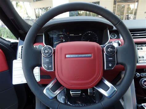 range rover autobiography interior 2016 pimento red interior west palm beach fl 2016 land rover