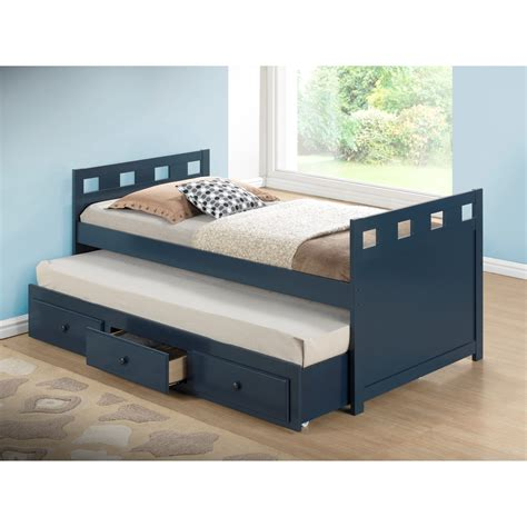 trundle beds for broyhill breckenridge captain bed with trundle and storage reviews wayfair