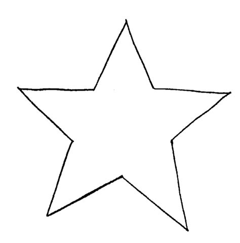 star shape pattern clipart best