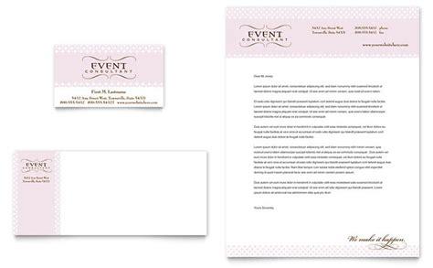 Wedding & Event Planning Business Card & Letterhead