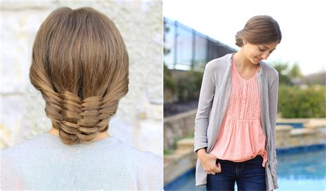 Pictures Of Pretty Hairstyles by The Woven Updo Hairstyles