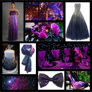 Purple Dresses For Weddings Galaxy Themed Wedding Inspiration Polyvore
