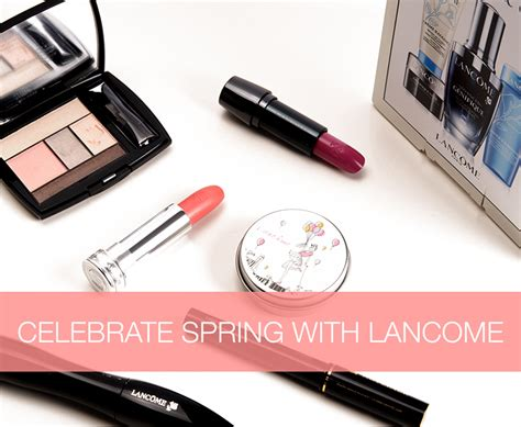Lancome Giveaway 2015 - win it lancome spring makeup skincare giveaway 321 50 value