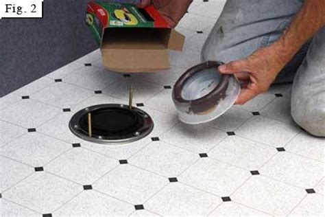 Closet Flange Installation by Replace A Toilet Resolution 700x700 Px Size Unknown