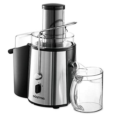juicers at bed bath and beyond gourmia 174 wide mouth gj750 fruit and vegetable centrifugal